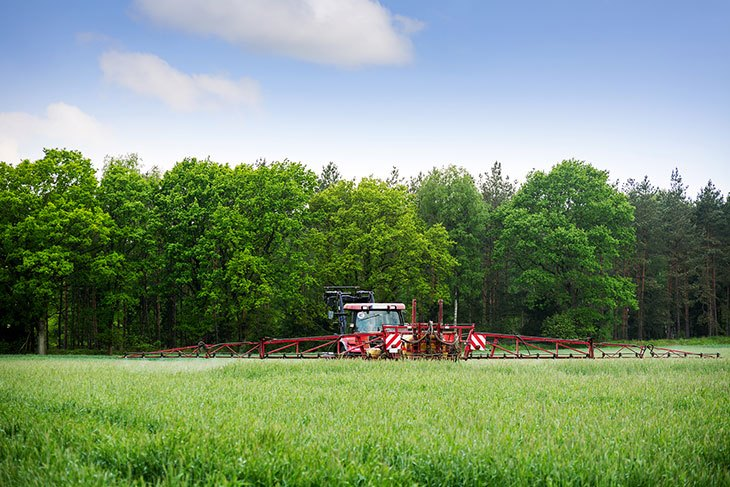 herbicide-on-a-field