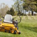 Yellow Zero Turn Mower