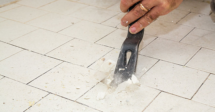 Remove Ceramic Tile