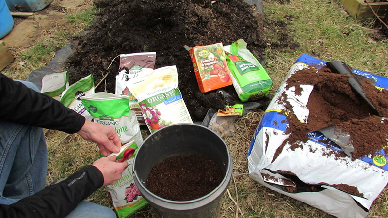 Fertilizing Soil