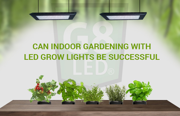 Indoor Gardening With LED Grow Lights