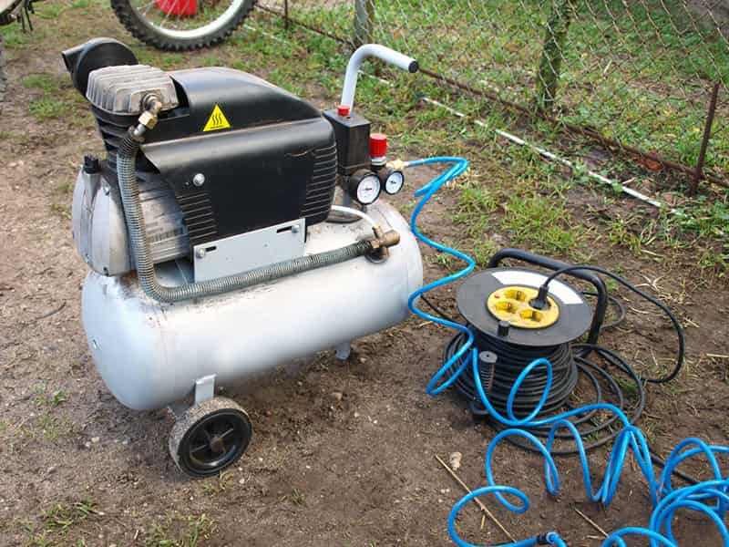 Small Portable Air Compressor